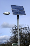 Solar Powered Street Light, UK Photographic Print by Mark Williamson