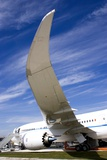 Boeing 787 Dreamliner At Farnborough Photographic Print by Mark Williamson