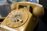 Rotary-dial Telephone Photographic Print by Mark Williamson