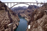 Colorado River Below Hoover Dam Photographic Print by Mark Williamson