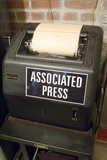 Associated Press Teletype Machine Photographic Print by Mark Williamson