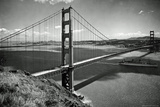 San Francisco Golden Gate Bridge Aerial Poster Photo