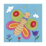 Mini Bugs III Premium Giclee Print by Sophie Harding