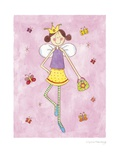 Fashion Fairies III Premium Giclee Print by Sophie Harding