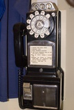 Rotary-dial Telephone with Coinbox Photographic Print by Mark Williamson