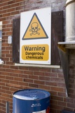 Dangerous Chemicals Warning Sign. Posters by Mark Williamson