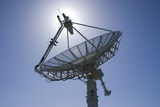 Satellite Communications Antenna Photo by Mark Williamson