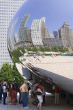 Cloud Gate Sculpture In Chicago Prints by Mark Williamson