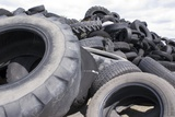 Dumped Tyres Photographic Print by Mark Williamson
