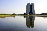 Wilson Hall At Fermilab Photographic Print by Mark Williamson