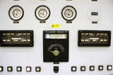 Dials And Gauges At Power Station Photographic Print by Mark Williamson