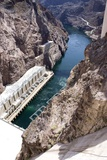 Powerplant Tailrace At Hoover Dam Photographic Print by Mark Williamson