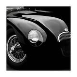 Jaguar C-Type Premium Giclee Print by  Retro Classics