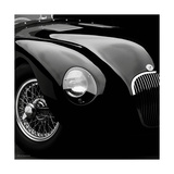 Jaguar, C-Typen Exklusivt gicléetryck av  Retro Classics