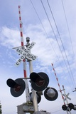 American Railroad Crossing Photographic Print by Mark Williamson