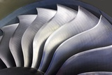 S-curve Fan Blades Photographic Print by Mark Williamson