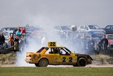 Stock Car Racing Near Appleby, Cumbria UK Photographic Print by Mark Williamson