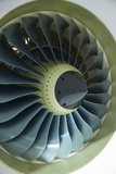 Aircraft Engine Fan In Cowling Photographic Print by Mark Williamson