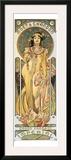 Moet et Chandon Framed Giclee Print by Alphonse Mucha