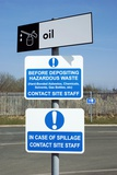 Recycling Centre Signs Photographic Print by Mark Williamson