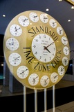 Standard Time Zone Clock. Photographic Print by Mark Williamson