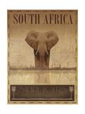 Sydafrika Exklusivt gicléetryck av Ben James