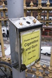 Cigarette And Gum Bin, Manchester Photographic Print by Mark Williamson