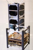 Cubesat Satellite Photographic Print by Mark Williamson
