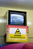 CCTV Monitor on Walton Pier, Essex, UK. Posters by Mark Williamson