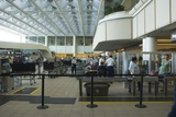 Security Area At Orlando Airport Florida Photographic Print by Mark Williamson