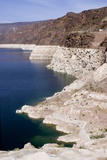 Lake Mead with Depressed Water Level Photographic Print by Mark Williamson
