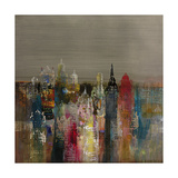 Penthouse View II Premium Giclee Print by  Douglas