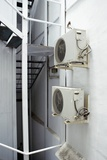 Air Conditioning Units Photographic Print by Mark Williamson
