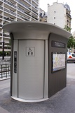 Street Toilet In Paris Photographic Print by Mark Williamson