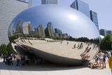 Cloud Gate Sculpture In Chicago Photo by Mark Williamson