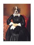 Ancestral Canines II Giclee-tryk i høj kvalitet af Thierry Poncelet