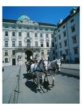 Hofburg Palace Vienna Austria Giclee-tryk i høj kvalitet