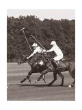 Polo In The Park III Giclee-tryk i høj kvalitet af Ben Wood