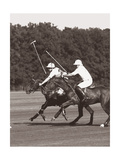 Polo In The Park III Stampa giclée premium di Wood, Ben