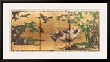 Phoenix and Paulownia Print by Tosa Mitsuyoshi
