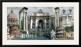 Rome Prints by John Clarke