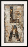LA Vertical Print by Luke Wilson