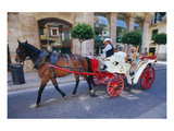 Palma de Mallorca Majorca Spain Giclee-tryk i høj kvalitet