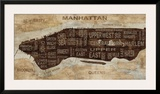 Manhattan Neighborhoods Prints by Luke Wilson
