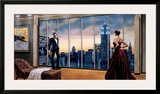 Evening Romance Print by Ron DiScenza