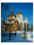 Cathedral of Christ the Saviour, Moscow, Russia Premium Giclee Print