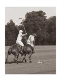 Polo In The Park II Giclée-Premiumdruck von Ben Wood