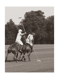 Polo In The Park II Premium Giclee Print by Ben Wood