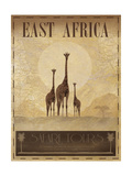East Africa Reproduction giclée Premium par Ben James