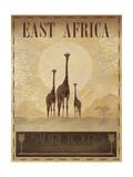 East Africa Giclee-tryk i høj kvalitet af Ben James